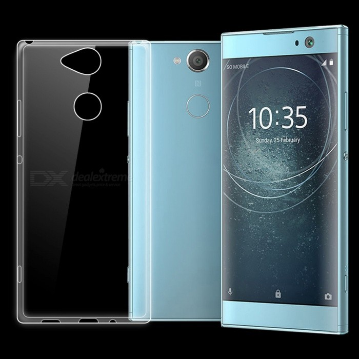 Ultra-thin Transparent TPU Back Case for Sony Xperia XA2TPU Cases<br>ColorTransparentModelN/AMaterialTPUQuantity1 pieceShade Of ColorTransparentCompatible ModelsSony Xperia XA2Packing List1 x Case<br>