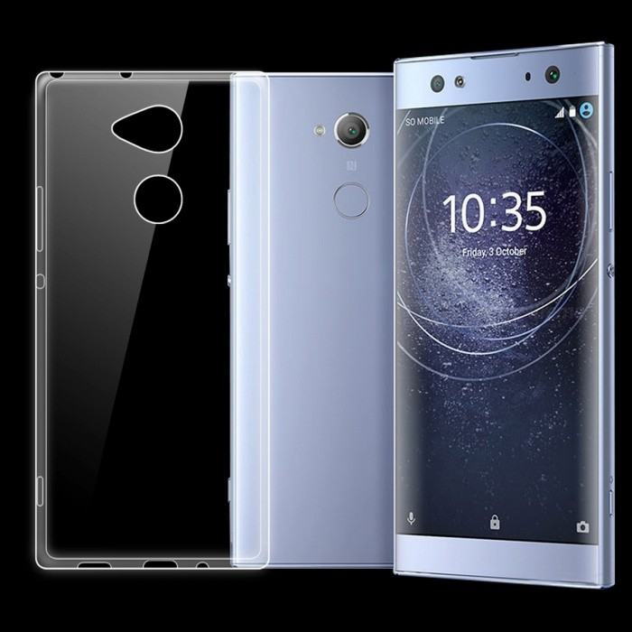 ultra thin transparent tpu back case for sony xperia xa2 ultra free shipping dealextreme. Black Bedroom Furniture Sets. Home Design Ideas