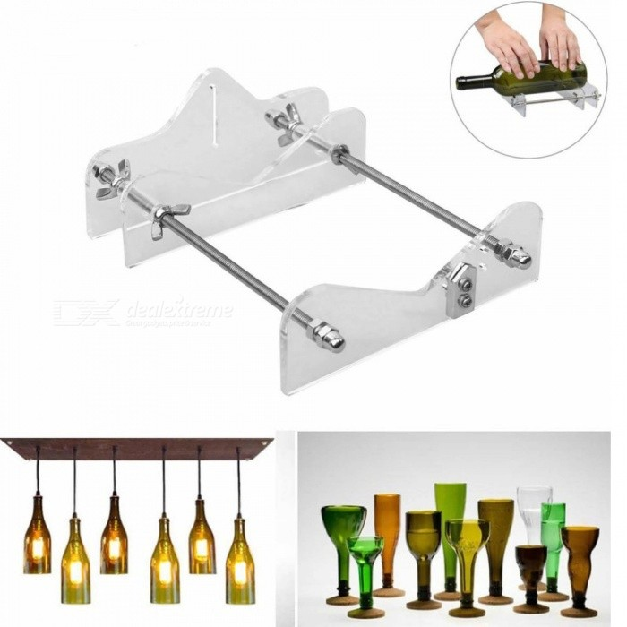 Construction Tools Glass Bottle Wine Bottle Shaped Cutter Bottle Cutter Diy Wine Bottle Lamp Cup Tool Cutting Machine Glass Knife Tools Wide Selection; Glass Cutter