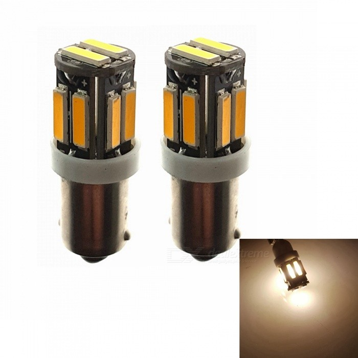 Sencart BaX9S 7020SMD 10-LED Warm White Car Marker Light, Interior Reading Dome Light (2 PCS / DC12V)Signal Lights<br>Color2PCS BaX9S Warm WhiteModel7020 LED LightQuantity2 piecesMaterialABS+PCB+LEDPower3 WWorking Voltage12-16VConnectorOthers,BaX9SBulb Specification10Brightness240-260LMColor BIN3000-3500KApplicationHigh Beam Lamp,Low Beam Lamp,Fog Bulb,Front Turn Signals Bulb,Side Turn Signals Bulb,Rear Turn Signals Bulb,Brake BulbPacking List2 x BaX9S LED Lights<br>