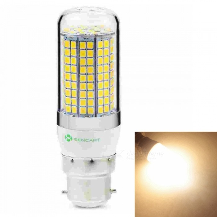 Sencart B22 8W 800LM SMD Warm White Energy Saving LED Light Blub Lamp, AC220-240VOther Connector Bulbs<br>Emitting ColorWarm WhitePower SupplyAC220-240VModel180 LEDMaterialABS+LED+PCBForm  ColorWhiteQuantity1 piecePower8WRated VoltageAC 220-240 VConnector TypeB22Chip Type2835Emitter TypeOthers,2835SMDTotal Emitters180Theoretical Lumens1200 lumensActual Lumens800 lumensColor Temperature3000KDimmableNoBeam Angle360 °Packing List1 x LED Light Blub<br>