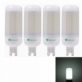 Sencart 4pcs G9 8W 800LM SMD Cool White Energy Saving LED Light Bulb Lamp Matte Shell AC 220-240V