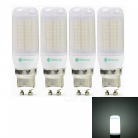 Sencart 4pcs GU10 8W 800LM SMD Cool White Energy Saving LED Light Bulb Lamp Matte Shell AC 110V-130V