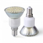Qook E14 3528 SMD 60-LED Home Spot Light, Cold White Spotlight Lamp Bulb