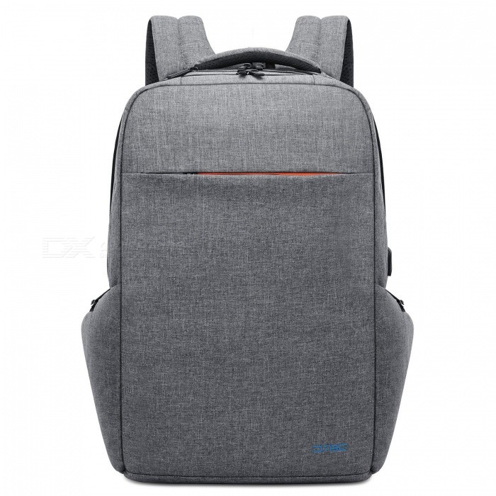 DTBG Water Resistant Large Capacity Business Laptop Backpack with USB Charging Port for 17.3 Inches Laptop - GreyBags and Pouches<br>ColorGreyModelD8249WQuantity1 setShade Of ColorGrayMaterialNylonCompatible Size17.3 inchTypeBackpacksPacking List1 x Backpack<br>