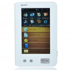 "Gemei GM3000 5"" Touch Screen E-Book Reader Media Player w/ FM/Voice Recorder/TF - White (4GB)"