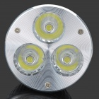 E14 3W 270lm 6500K Cold White Light 3-LED Cup Bulb (85~265V)