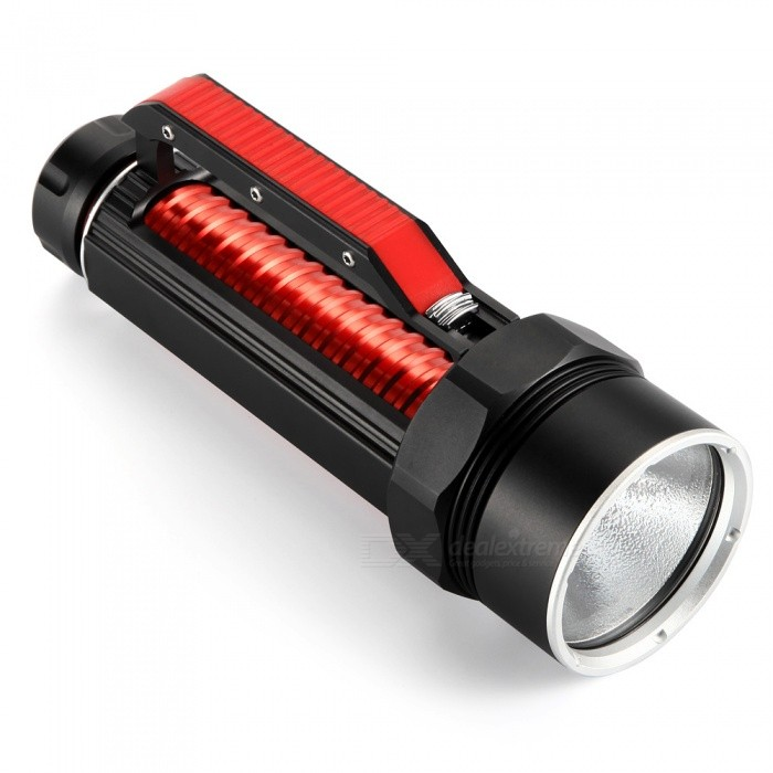 AIBBER TONE Portable 4000 Lumens Cree XHP70 LED Flashlight Torch�� 26650 Rechargeable Batteries Searchlight