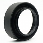 Photography Universal Rubber Telescopic Lens Hood 49mm Caliber - Black