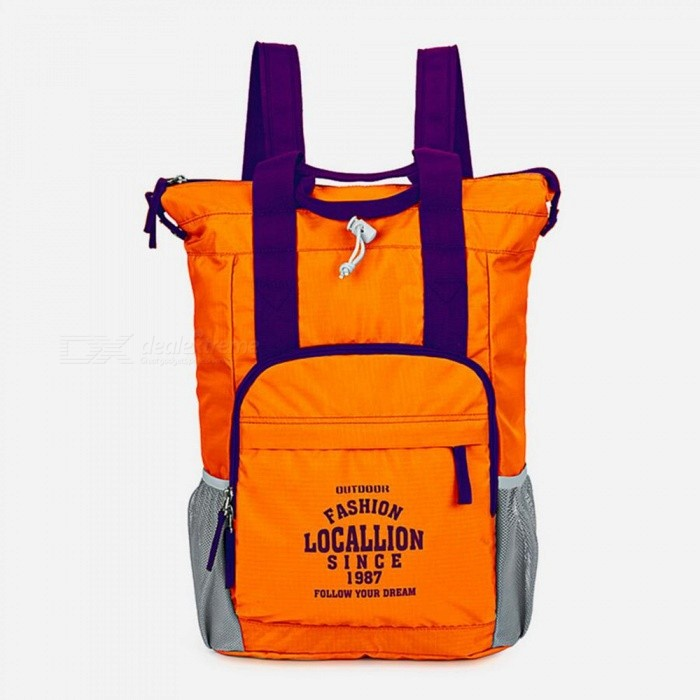 LOCAL LION 566 Multi-function Outdoor Backpack Waterproof Ultra-light 20L Portable Sports Bag - OrangeColorOrangeModel566Quantity1 pieceMaterialPolyesterSizeOthers,43*29*14.5cmCapacity20LCapacity Range0L~20LRaincover includedNoGenderMenBest UseTravelPacking List1 x Backpack<br>