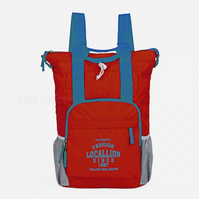 LOCAL LION 566 Multi-function Outdoor Backpack Waterproof Ultra-light 20L Portable Sports Bag - RedColorRedModel566Quantity1 pieceMaterialPolyesterSizeOthers,43*29*14.5cmCapacity20LCapacity Range0L~20LRaincover includedNoGenderMenBest UseTravelPacking List1 x Backpack<br>