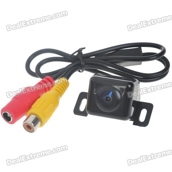 E312 Compact Vehicle Rear Sight Waterproof Video Camera (DC 12V/NTSC)
