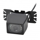 E327 Vehicle Rear Sight Waterproof Video Camera with 7-LED Night Vision (DC 12V/NTSC)