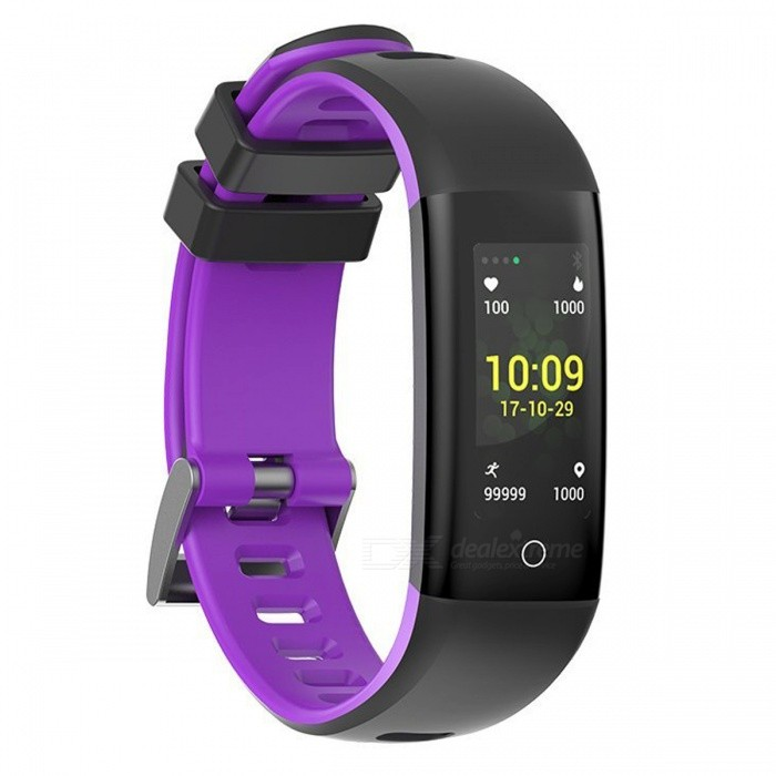 G16 Smart Bracelet Fitness Tracker with Blood Pressure Heart Rate Sleep Monitoring Pedometer Camera Remote Shoot - PurpleSmart Bracelets<br>ColorPurpleModelG16Quantity1 setMaterialTPUShade Of ColorPurpleWater-proofIP67Bluetooth VersionBluetooth V4.0Touch Screen TypeIPSOperating SystemAndroid 4.4,iOSCompatible OSSupports Bluetooth 4.0 or above. IOS8.2 or above, Android 4.4 or aboveBattery Capacity105 mAhBattery TypeLi-polymer batteryStandby Time21 daysPacking List1 x Smart Bracelet1 x User Manual1 x Charger<br>