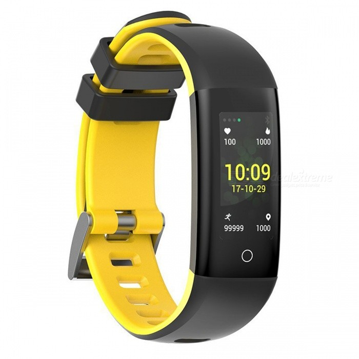 G16 Smart Bracelet Fitness Tracker with Blood Pressure Heart Rate Sleep Monitoring Pedometer Camera Remote Shoot - YellowSmart Bracelets<br>ColorYellowModelG16Quantity1 setMaterialTPUShade Of ColorYellowWater-proofIP67Bluetooth VersionBluetooth V4.0Touch Screen TypeIPSOperating SystemAndroid 4.4,iOSCompatible OSSupports Bluetooth 4.0 or above. IOS8.2 or above, Android 4.4 or aboveBattery Capacity105 mAhBattery TypeLi-polymer batteryStandby Time21 daysPacking List1 x Smart Bracelet1 x User Manual1 x Charger<br>