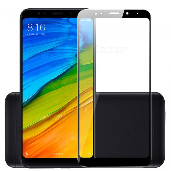 ASLING 2.5D Full Screen Tempered Glass Screen Protector for Xiaomi Redmi 5 Plus