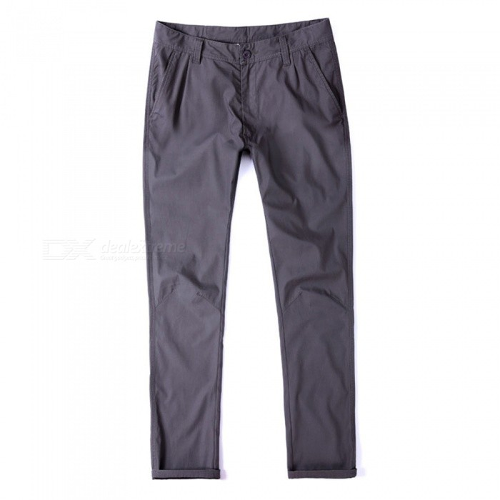 CTSmart 1682 Spring Summer Mens Casual Outdoor Slim Thin Quick-Dry Pants Trousers - Grey (32)Pants and Shorts<br>ColorgraySize32Model1682Quantity1 pieceShade Of ColorGrayMaterialcottonStyleSportsWaist Girth86 cmInseam81 cmHip Girth108 cmTotal Length83 cmPacking List1 x Pants<br>