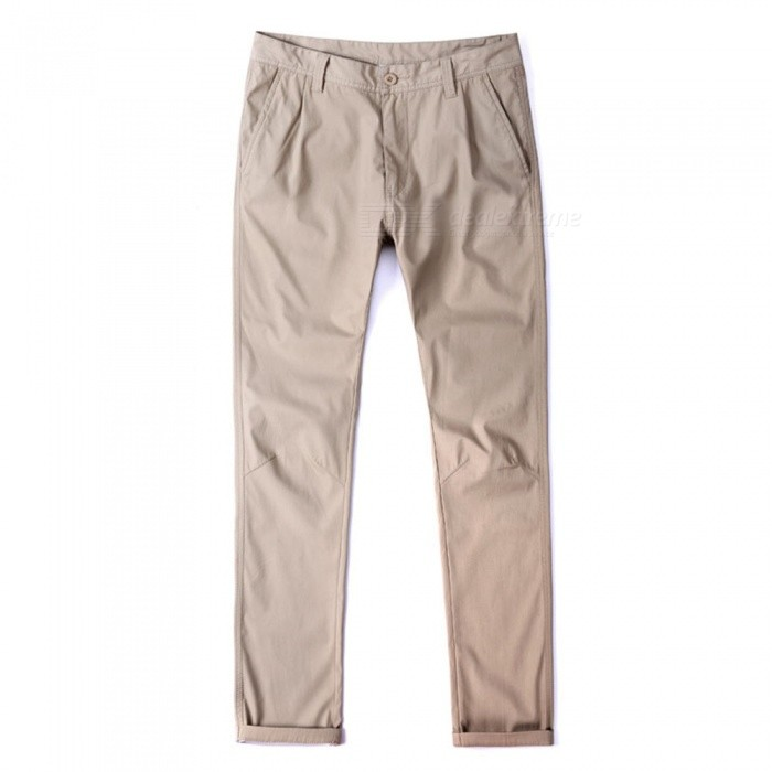 CTSmart 1682 Spring Summer Mens Casual Outdoor Slim Thin Quick-Dry Pants Trousers - Khaki (33)Pants and Shorts<br>ColorkhakiSize33Model1682Quantity1 pieceShade Of ColorBrownMaterialcottonStyleSportsWaist Girth90 cmInseam81 cmHip Girth112 cmTotal Length83 cmPacking List1 x Pants<br>