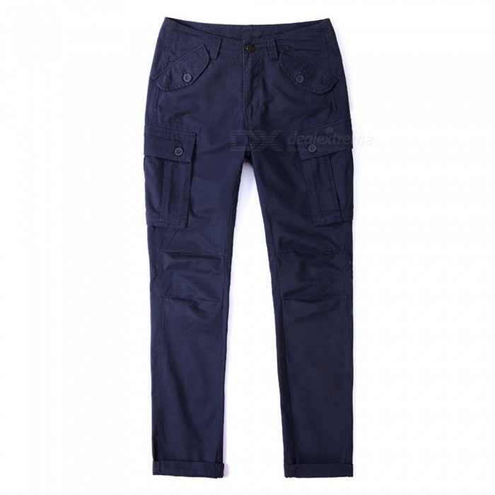 CTSmart 1683 Spring Summer Mens Solid Color Cotton Slim Straight Pants Trousers - Blue (36)Pants and Shorts<br>ColorblueSize36Model1683Quantity1 pieceShade Of ColorBlueMaterialCottonStyleSportsWaist Girth92 cmInseam81 cmHip Girth118 cmTotal Length83 cmPacking List1 x Pants<br>