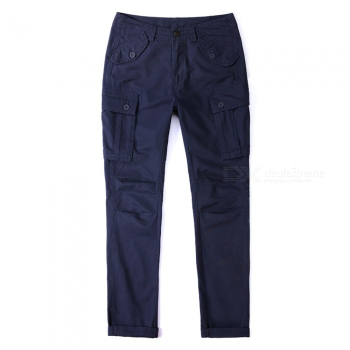 CTSmart 1683 Spring Summer Mens Solid Color Cotton Slim Straight Pants Trousers - Blue (33)Pants and Shorts<br>ColorblueSize33Model1683Quantity1 pieceShade Of ColorBlueMaterialCottonStyleSportsWaist Girth85 cmInseam80 cmHip Girth111 cmTotal Length82 cmPacking List1 x Pants<br>