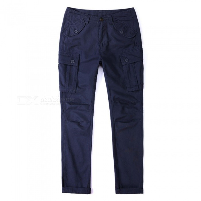 CTSmart 1683 Spring Summer Mens Solid Color Cotton Slim Straight Pants Trousers - Blue (38)Pants and Shorts<br>ColorblueSize38Model1683Quantity1 pieceShade Of ColorBlueMaterialCottonStyleSportsWaist Girth97 cmInseam82 cmHip Girth123 cmTotal Length84 cmPacking List1 x Pants<br>