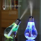 Creative Colorful Light Bulb Style Humidifier