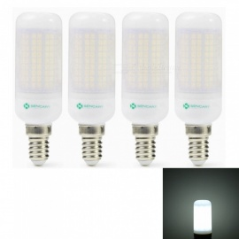 Sencart 4pcs E27 8W 800LM SMD Cool White Energy Saving LED Light Bulb Lamp Matte Shell AC 110V-130V