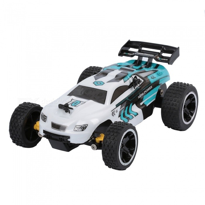 RUI CHUANG QY1802A 1:18 Scale 15KMH 2.4GHz Remote Control Off-road Racing Car - WhiteR/C Cars<br>ColorWhiteModelQY1802AMaterialABSQuantity1 pieceShade Of ColorWhiteShape ModelOffroad CarScaleOthers,1:18Channels Quanlity4 channelFunctionLeft,Right,Forward,BackwardRemote control frequency2.4GHzRemote Control Range30 mSuitable Age 8-11 years,12-15 years,Grown upsCameraNoCamera PixelNoLamp NoBattery CapacityN/A mAhBattery TypeAACharging TimeN/A hourWorking Time10~15 minutesRemote Controller Battery TypeAARemote Controller Battery Number2(not included)Other FeaturesSpeed:13~15km/hPacking List1 x RC car1 x RC Controller<br>