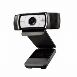 Logitech C930E 1920 x 1080 HD Webcam Garle Zeiss Lens Certification with 4Time Digital Zoom Support Official Verification for PC usb