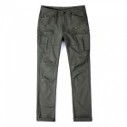 Ctsmart 1686 spring summer men's casual outdoor slim quick-dry pants trousers - army green (33)