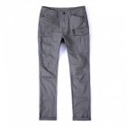 Ctsmart 1686 spring summer men's casual outdoor slim quick-dry pants trousers - grey (40)