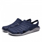Ctsmart 1512 summer outdoor breathable beach shoes - dark blue (42)