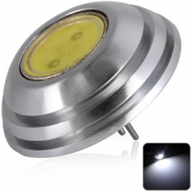 sencart G4 COB 1SMD LED-lamp, auto marine RV camper home lamp spot light - koud wit / DC12V