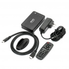 Mini 1080P H.264/RM/RMVB Full HD Media Player with HDMI/SDHC/USB Host/AV/Optical