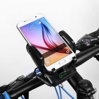 Meilan X2 Bike Motorcycle Trunk Phone Holder + Mobile Phone Charger + LED Headlight - Black