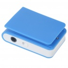 USB Rechargeable Mini Screen-Free Clip MP3 Player - Blue (2GB)