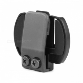 Metal Clip Clamp Set Accessories for Clamp LX-R6 1200M Motorcycle Bluetooth Helmet Interphone Intercom Black