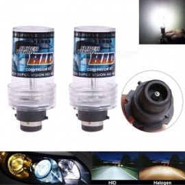 2Pcs D2S 12V 35W 12000K Car Vehicle Light Headlight, HID Xenon Bulbs