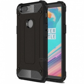 ASLING TPU Case Bumper Cover for OnePlus 5T - Black