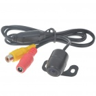 E306 Compact Vehicle Rear Sight Waterproof Video Camera (DC 12V/NTSC)