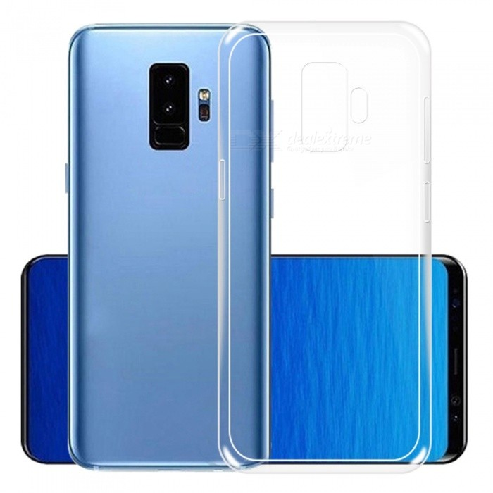 Naxtop Ultra-thin Soft TPU Case for Samsung Galaxy S9+ - TransparentTPU Cases<br>ColorTransparent for Samsung Galaxy S9+ModelN/AQuantity1 pieceShade Of ColorTransparentCompatible ModelsSamsung Galaxy S9DesignSolid ColorStyleBack CasesPacking List1 x Case<br>