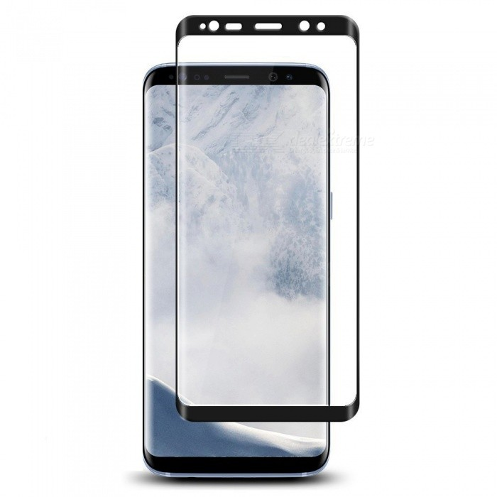 Naxtop Tempered Glass Screen Protector for Samsung Galaxy S9 - BlackScreen Protectors<br>ColorBlackModelN/AMaterialTempered GlassQuantity1 pieceCompatible ModelsSamsung Galaxy S9Features3D,Fingerprint-proof,Scratch-proof,Tempered glassPacking List1 x Tempered glass film1 x Wet wipe1 x Dry wipe1 x Dust absorber<br>