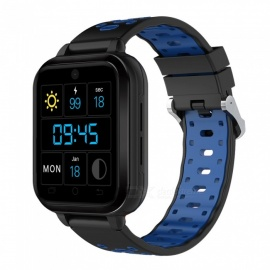 New Q1 Pro 4G Full Network Four Core Smart Watch Bracelet with Blood Pressure / Heart Rate Monitoring, 4G HD Video Call - Blue
