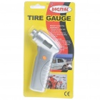 "Portable Handheld 0.9"" LCD Digital Tire Pressure Gauge - Silver (1*CR2032)"