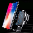 Baseus car mount qi wireless charger  quick charge fast wireless charging pad car holder stand black