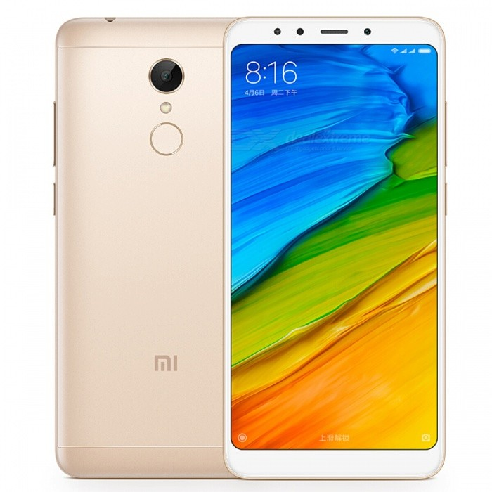 Xiaomi Redmi 5 Mobile Phone with 2GB RAM 16GB ROM - Gold