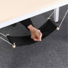 SGODDE The Welfare Of Office Leisure Home Office Foot Rest Desk Feet Hammock Surfing The Internet Hobbies Outdoor Rest Black