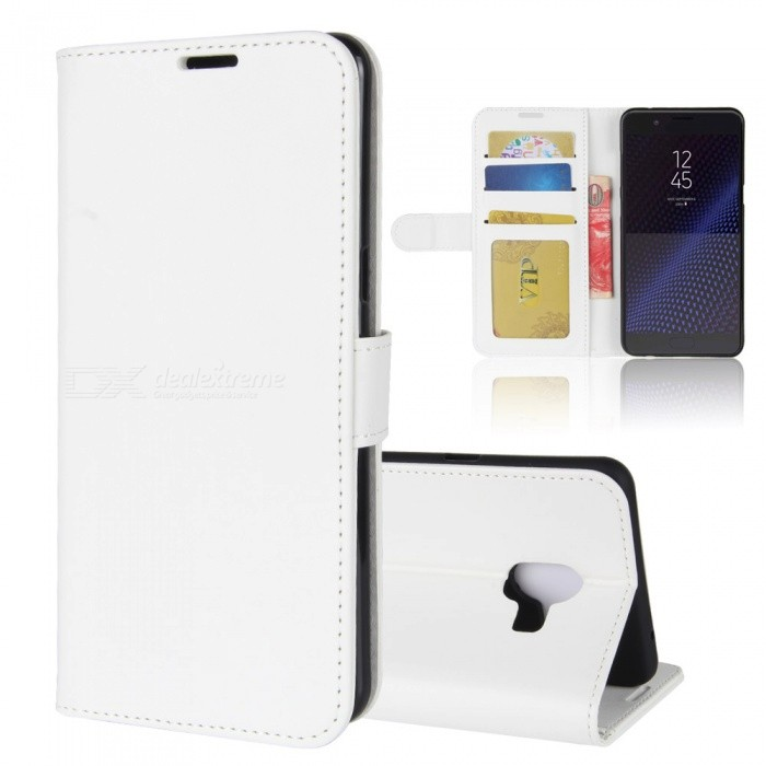 Protective PU Leather Case for Samsung C10 - WhiteLeather Cases<br>Form  ColorWhiteModelN/AMaterialPUQuantity1 pieceShade Of ColorWhiteCompatible ModelsSamsung C10FeaturesAnti-slip,Dust-proof,Shock-proof,Abrasion resistance,Holder functionPacking List1 x Case<br>