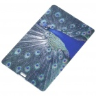 Compact Name Card Style USB 2.0 Flash/Jump Drive - Peacock (4GB)