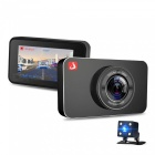 "Junsun H9 Car DVR Camera ADAS/LDWS FHD Full HD 1920 x 1080P 3"" IPS Dash Cam Video Recorder Registrar Parking Monitor"